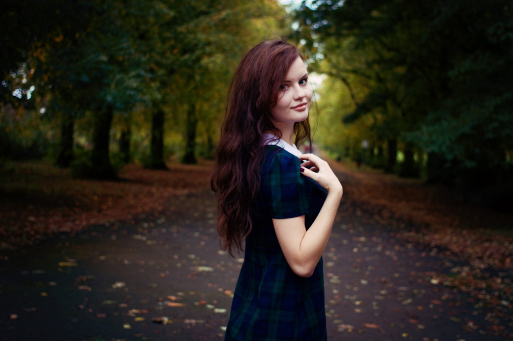 navy-green-plaid-tartan-dress