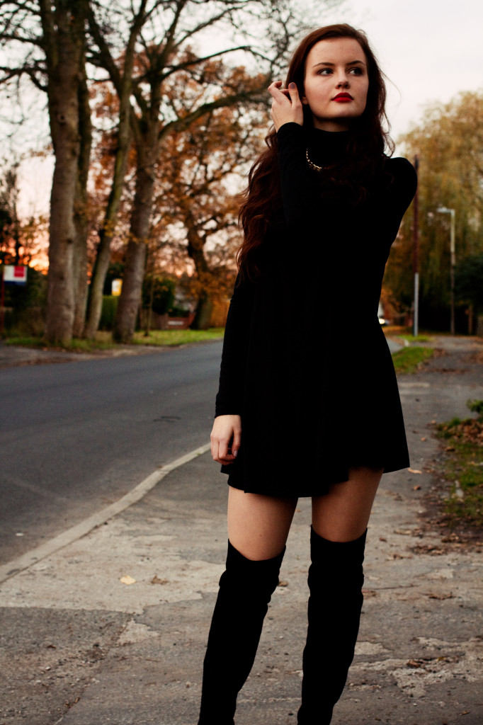 black-over-knee-boots