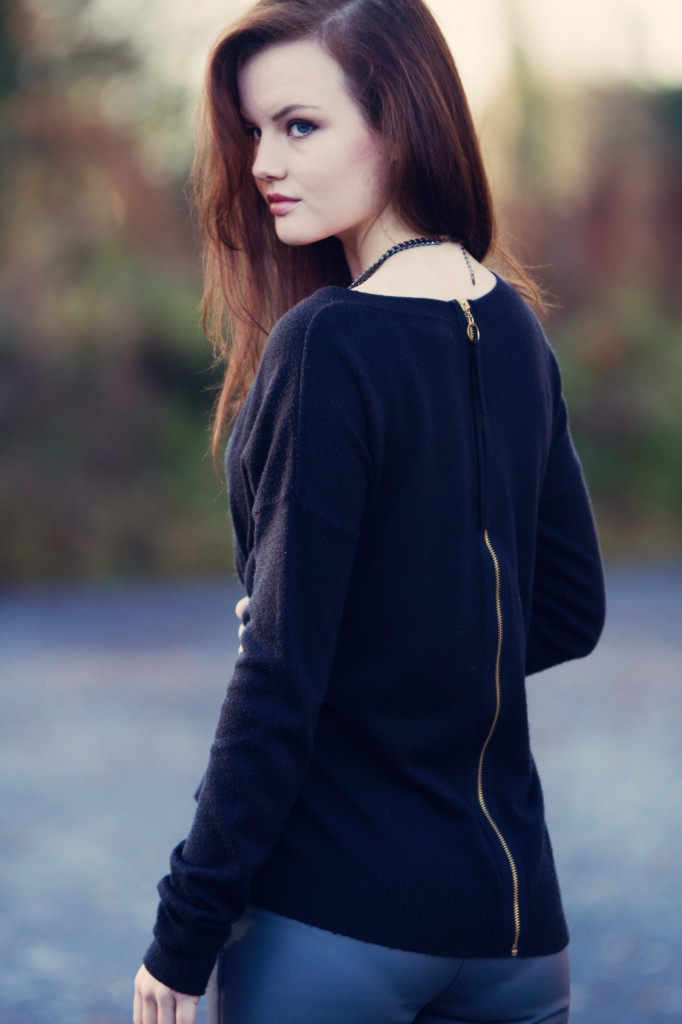 black-zip-sweater