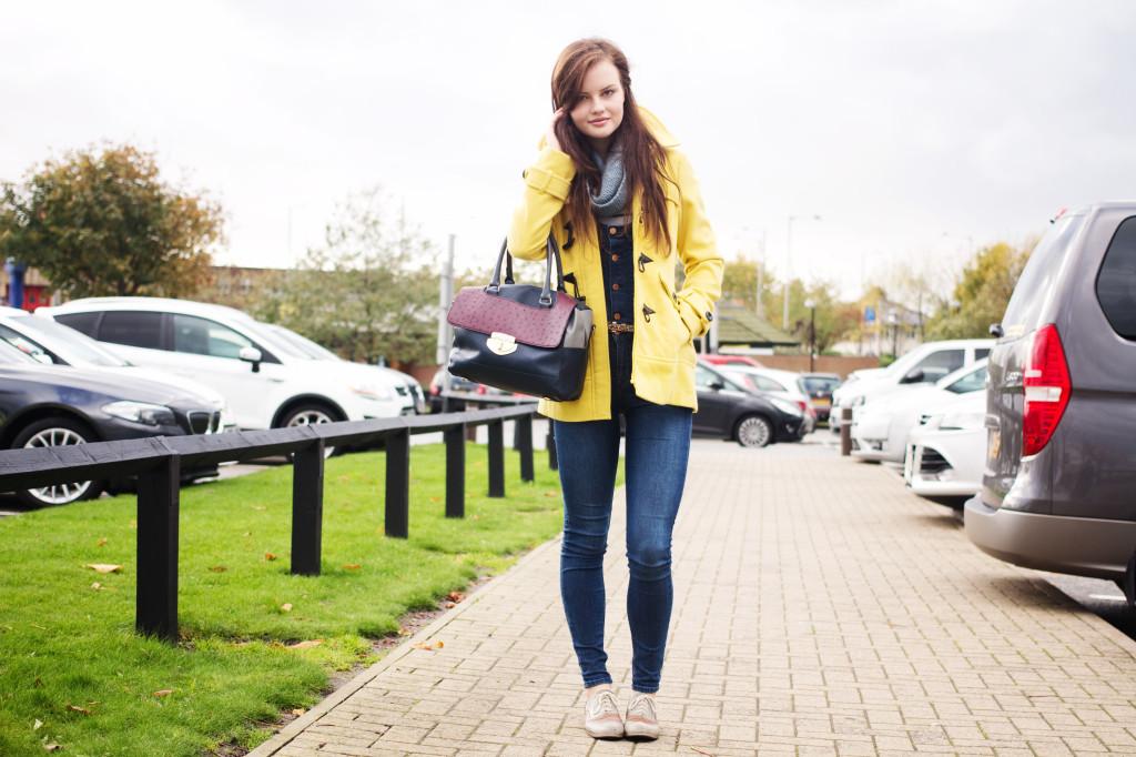 yellow-coat-blue-dungarees