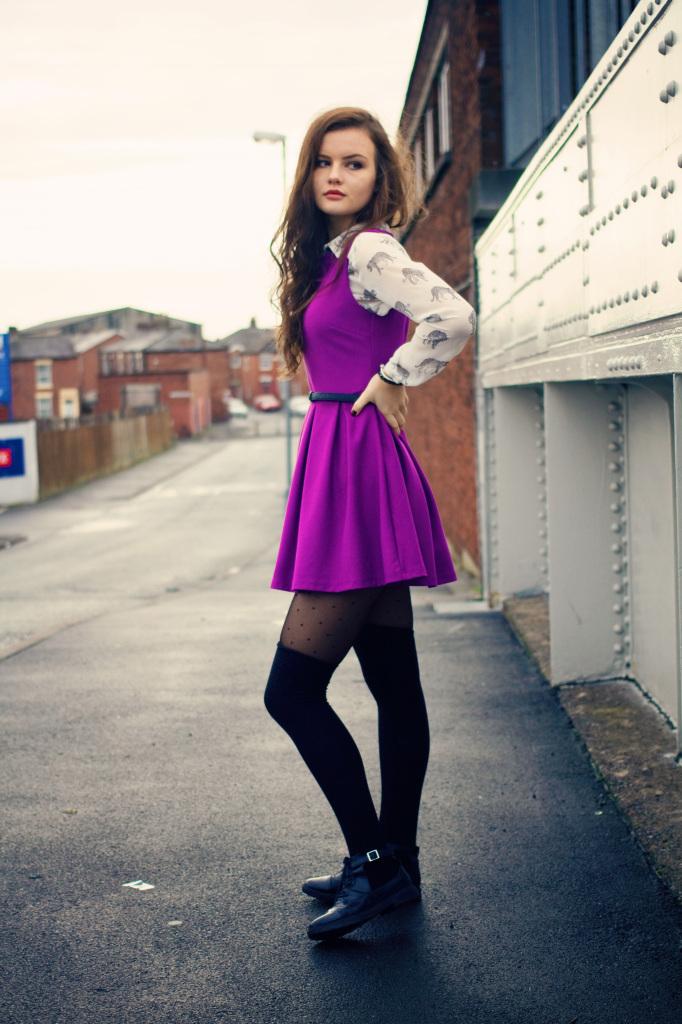 purple-skater-dress-black-high-socks