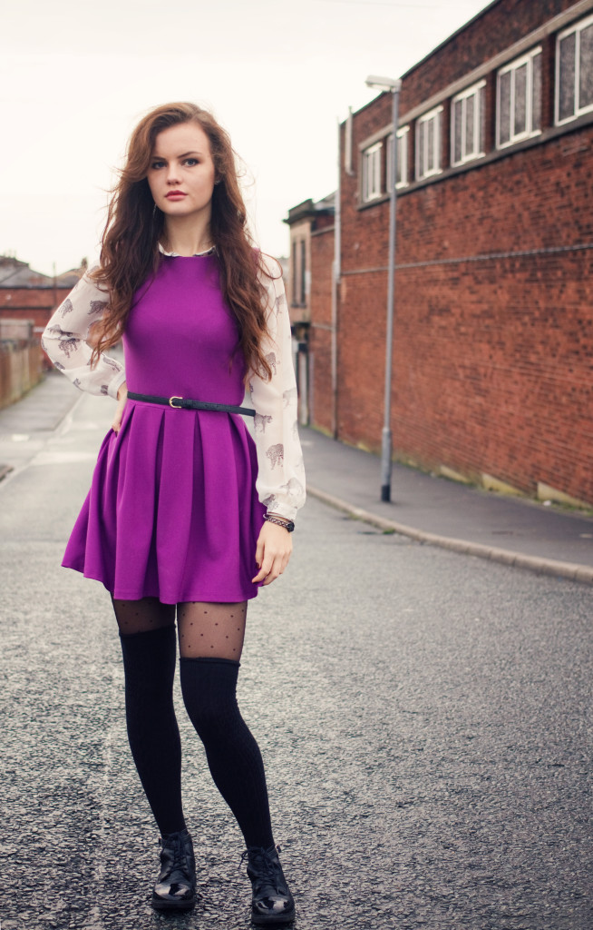 topshop-pleated-skater-dress