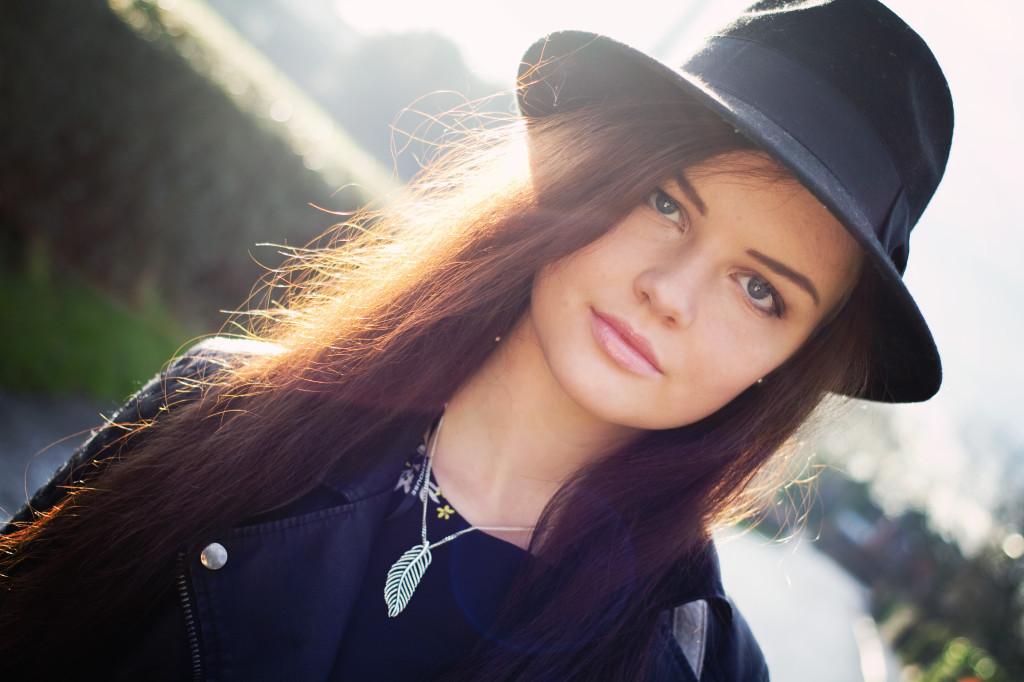 backlit-brunette-model