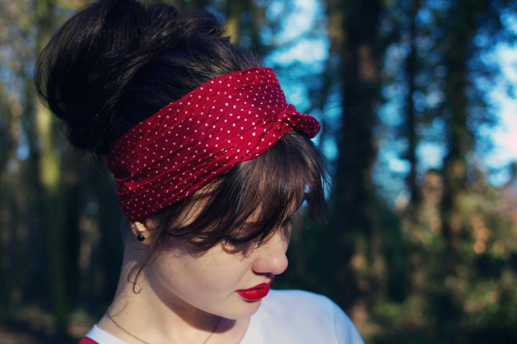 red-spotty-headscarf