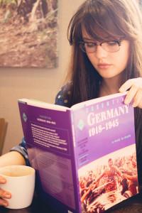 UK teen blogger revising for GCSE History