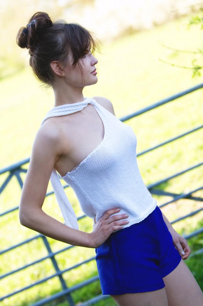 white-top-blue-shorts
