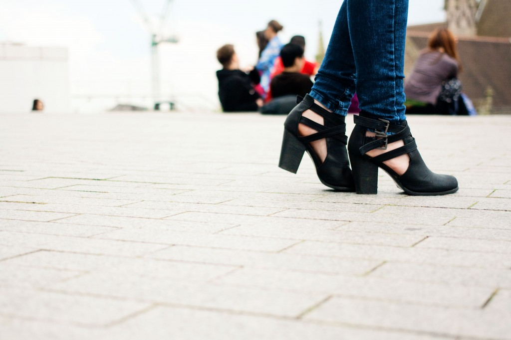 cutout-chunky-black-ankle-boots