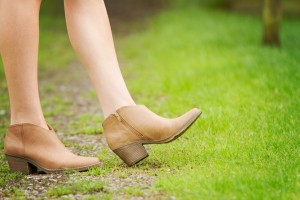 Pointed toe western style boots from Forever 21