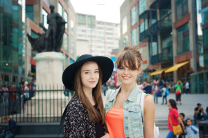 UK teen bloggers Lily Kate France and Alice Evans