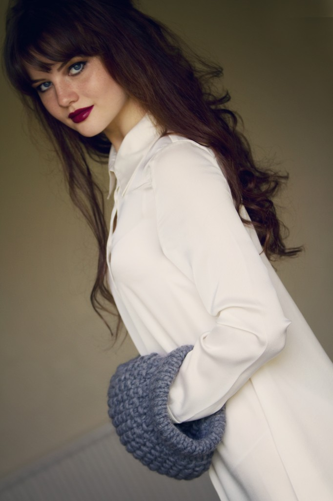 lily-kate-france-wearing-wool-and-the-gang-muffler