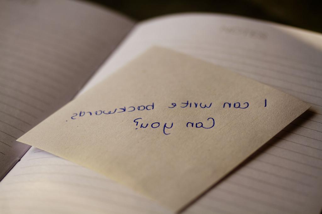 backwards-writing