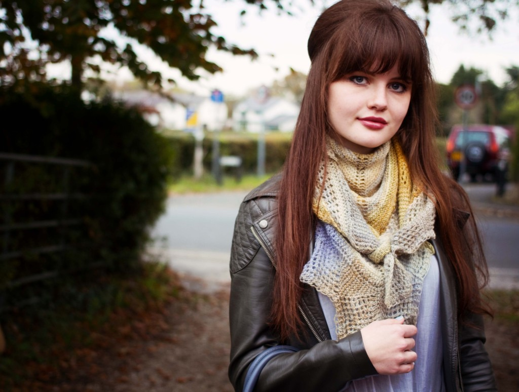 brunette-with-half-updo