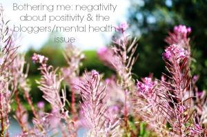 Negativity in the blogging world