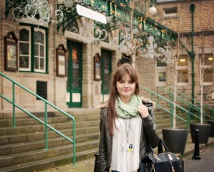 Teen blogger at Royal Hall Harrogate