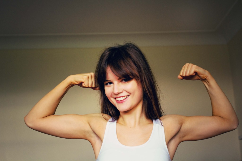 girl-showing-hint-of-bicep