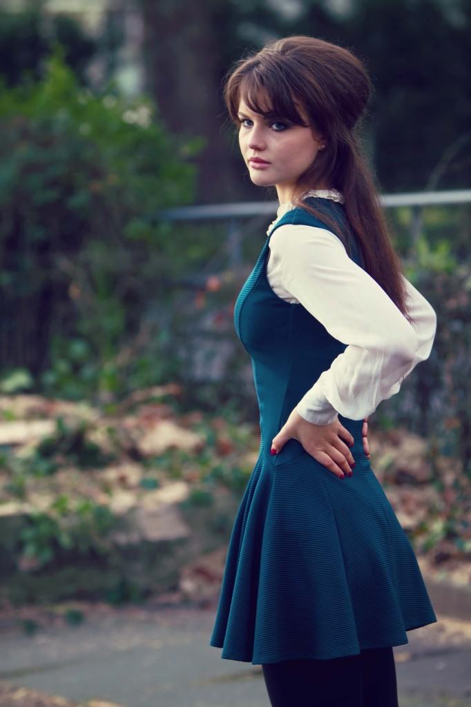 skater-dress-over-blouse