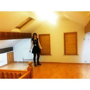 New loft space teen bedroom