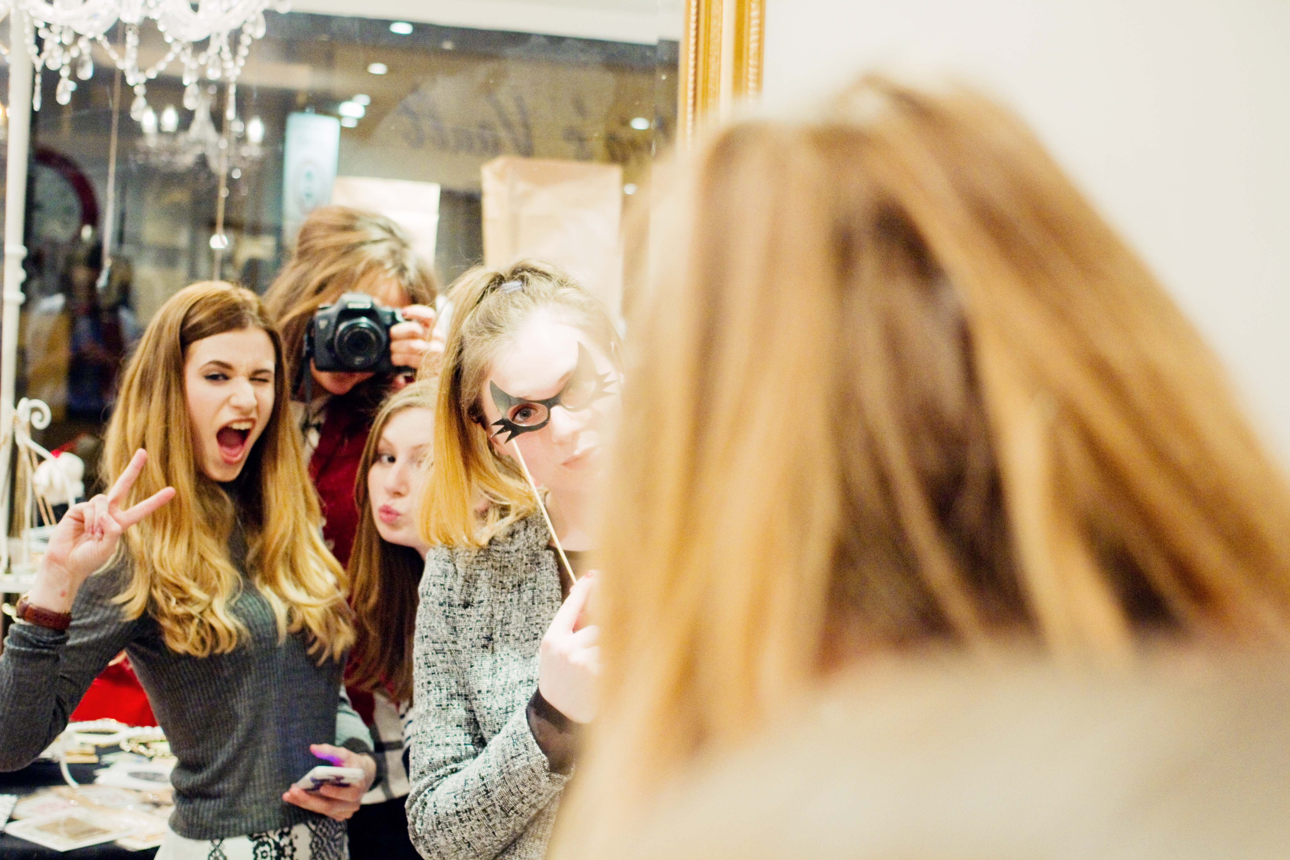 Bloggers at Mary & Milly boutique Preston
