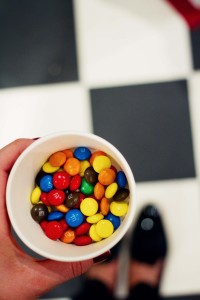 M&Ms at Mary and Milly