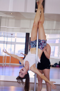 First inversion at ECN Pole Fitness Blackpool