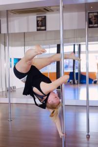 Expert pole fitness at ECN Blackpool