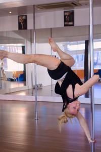 Pole fitness expert at ECN Blackpool