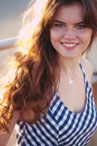 Superdry dress worn by teen blogger