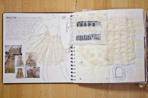 Example pages for AS textiles book