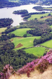 Derwentwater near Keswick in Norther Lake District UK