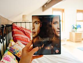 Benjamin Button DVD case