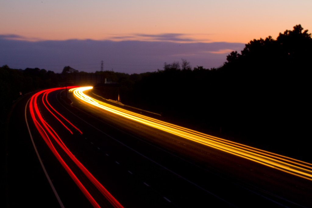 light-trails-on-m55-motorway