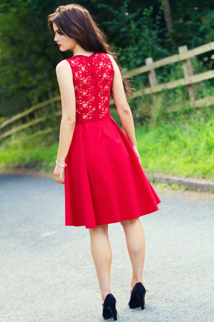 red-lace-back-midi-dress