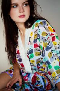Uncommon goods recycled sari kimono