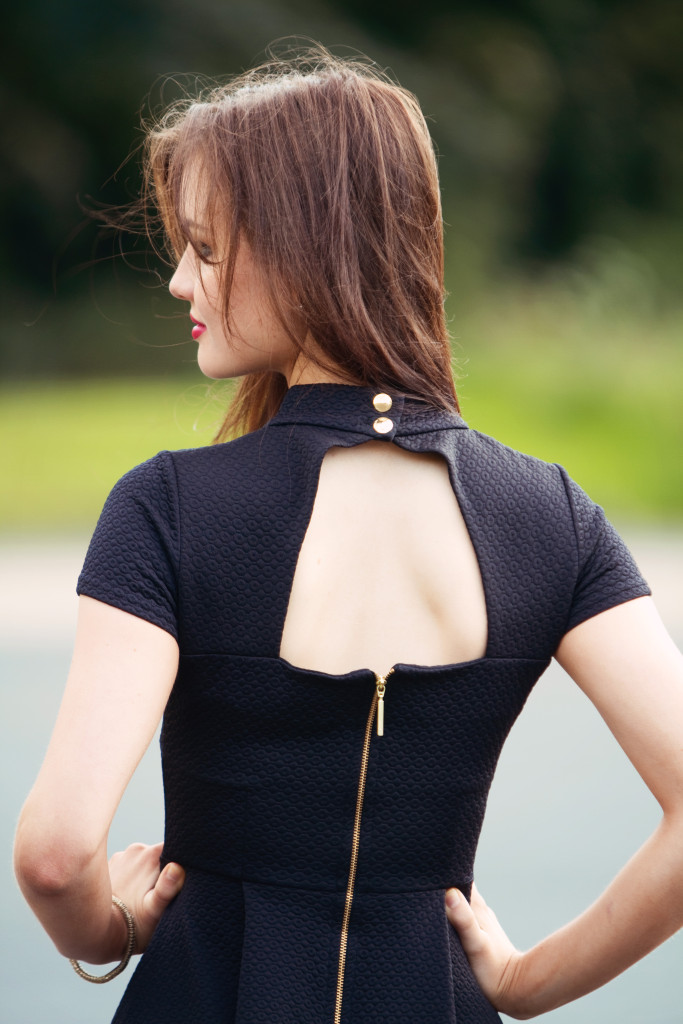 high-neck-open-back-dress