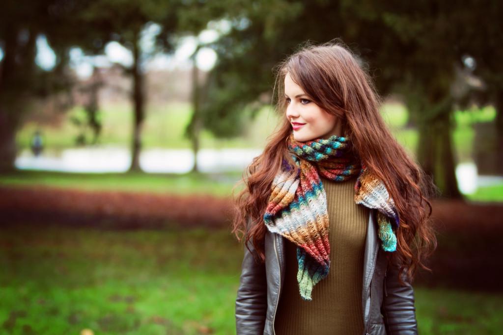 clapotis-scarf-noro-yarn