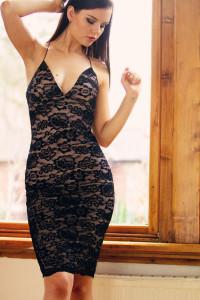 AX Paris bodycon lace dress