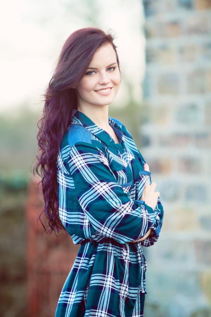 teen-wearing-shirt-dress