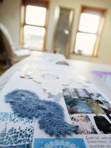 A2 textiles coursework crochet samples