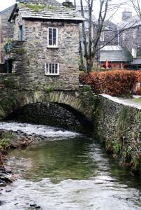 Tiny bridge house in Ambleside Cumbria