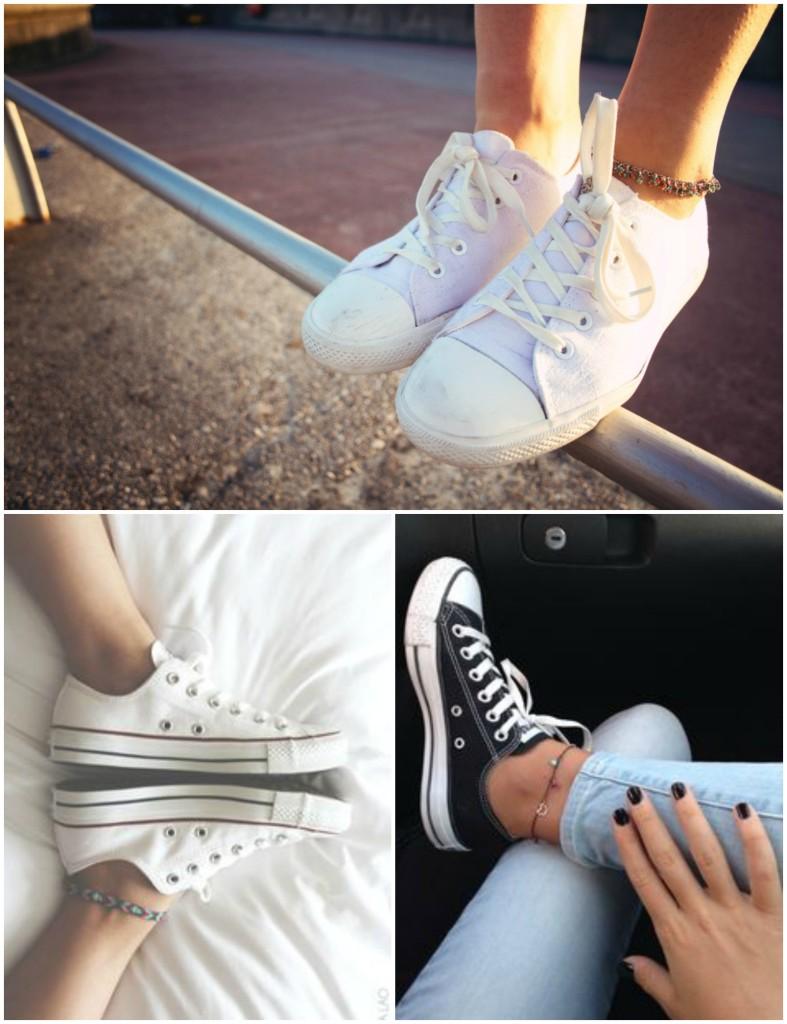 anklet collage