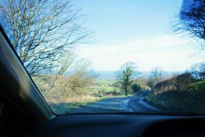 Driving around Yorkshire UK