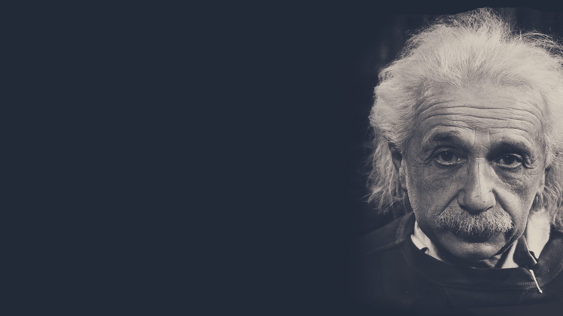 Albert Einstein black and white photograph
