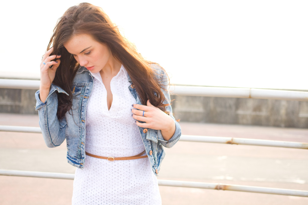 girl-wearing-white-dress-denim-jacket
