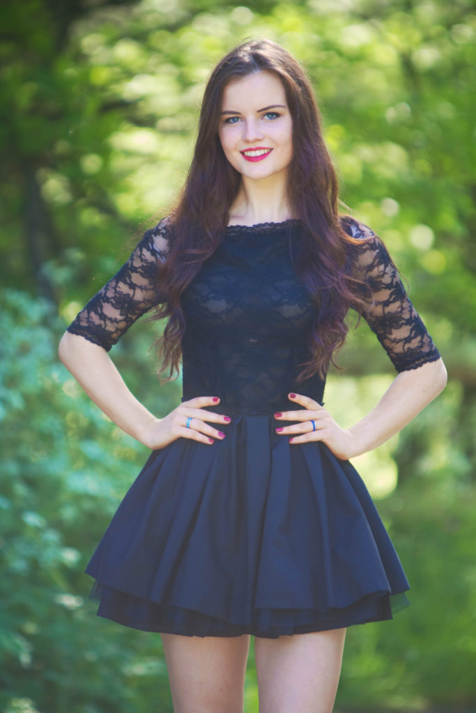 black-skater-style-lace-dress