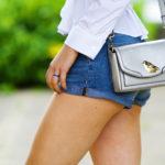 happy little bird | the cutest silver handbag