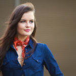 bandana bandwagon | orange neckerchief
