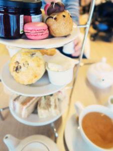Afternoon tea at Marks & Spencer