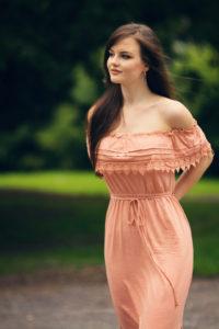 Tie waist girly dress