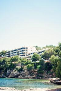 beachfront hotel. Majorca