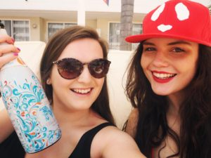Bloggers partying in Majorca